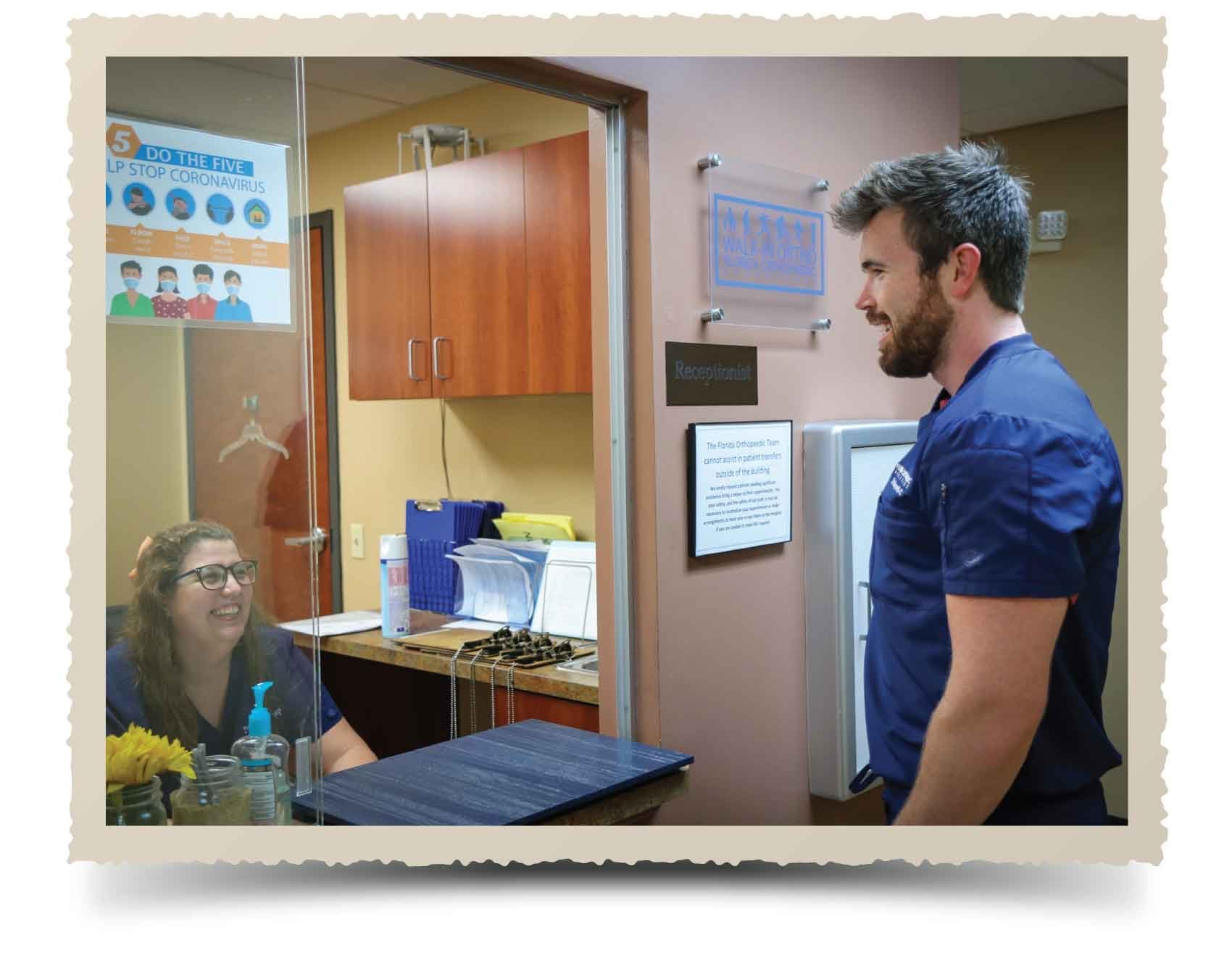 The FOA walk-in clinic opens in Orange City. The clinic is dedicated to treating sports injuries, breaks, accidents, sprains and fractures.